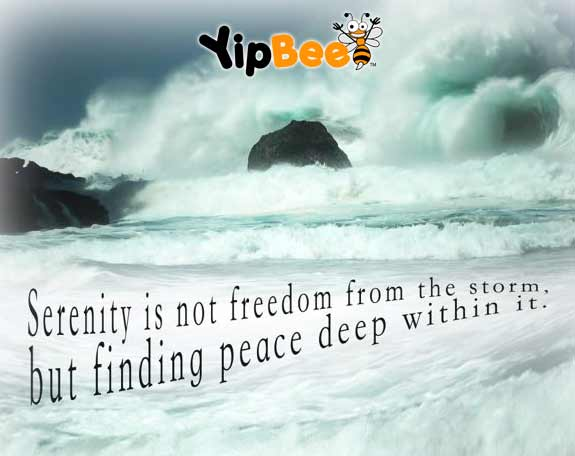 Serenity peace quote